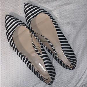 Really cute, striped flats!